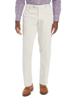 Zanella Parker Flat Front Stretch Cotton Trousers