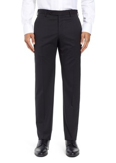Zanella Parker Flat Front Stretch Wool Trousers