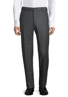 Zanella Parker Prince Plaid Wool Pants