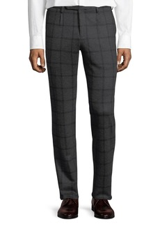 Zanella Windowpane Jersey Trousers