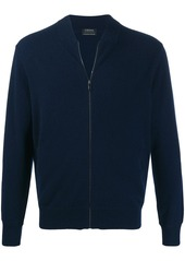 Zegna zip-up cardigan