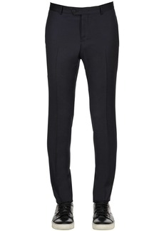 Zegna 17.5cm Lined Stretch Wool Pants