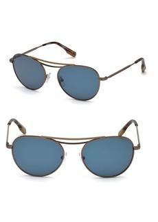 Zegna 54MM Aviator Sunglasses