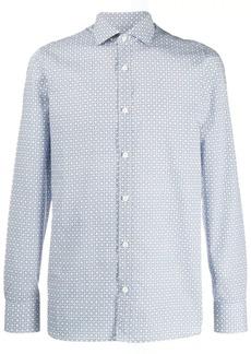 Zegna all-over print shirt
