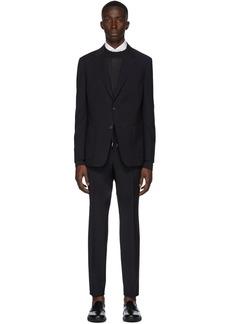 Zegna Black Merino Wash & Go Suit