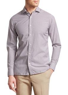 Zegna Checkered Shirt