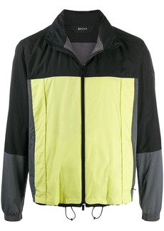 Zegna color-block lightweight jacket