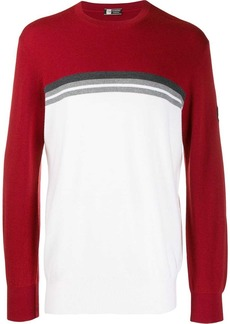 Zegna colour block jumper