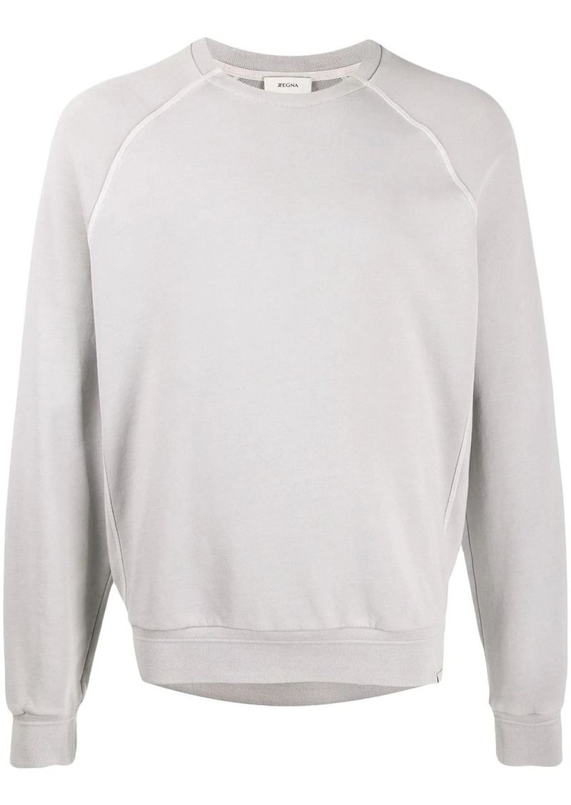 Zegna crew-neck knit jumper