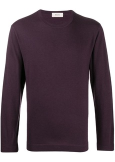 Zegna crew neck wool jumper