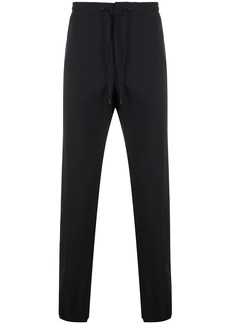 Zegna drawstring straight trousers