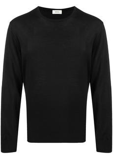 Zegna fine-knit wool jumper