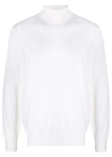 Zegna fine wool turtleneck jumper