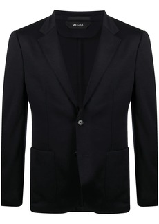 Zegna fitted single-breasted blazer