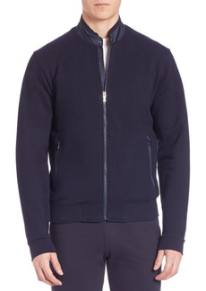 Zegna French Terry Zip Jacket