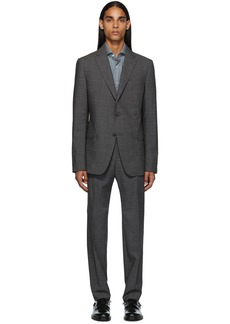 Zegna Grey Check Slim Suit