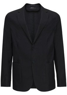 Zegna Light Cotton Poplin Jacket