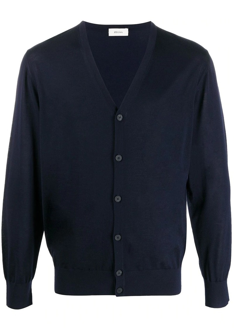 Zegna lightweight-knit cardigan