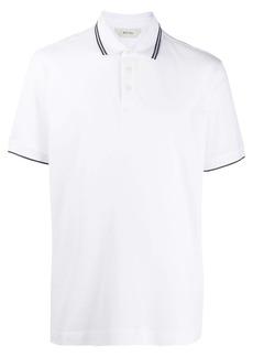 Zegna logo polo T-shirt