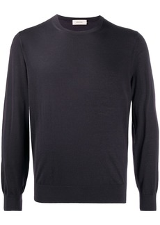 Zegna long-sleeve fitted jumper