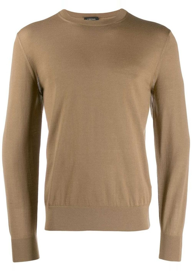 Zegna long sleeve jumper