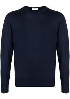 Zegna long-sleeve wook jumper