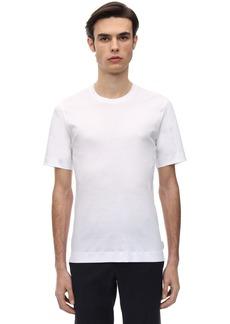 Zegna Mercerized Interlock Jersey T-shirt