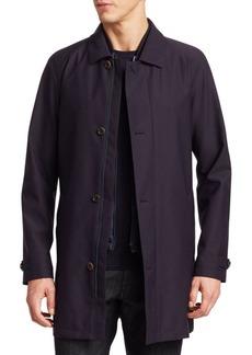 Zegna Microtene Double-Layer Vest & Jacket