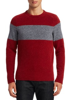 Zegna Mohair Wool Crew Sweater