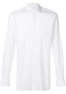 Zegna plain button shirt
