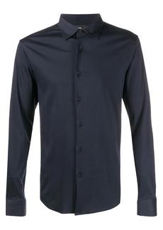 Zegna plain long sleeve shirt