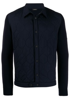 Zegna quilted jacket