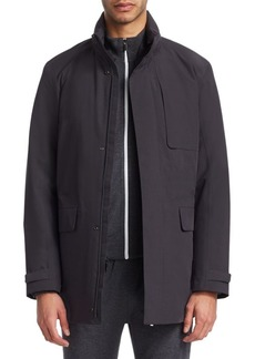 Zegna Quilted Reversible Jacket