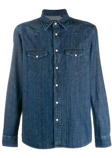 Zegna relaxed-fit denim shirt