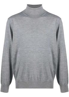 Zegna rib-trimmed wool jumper