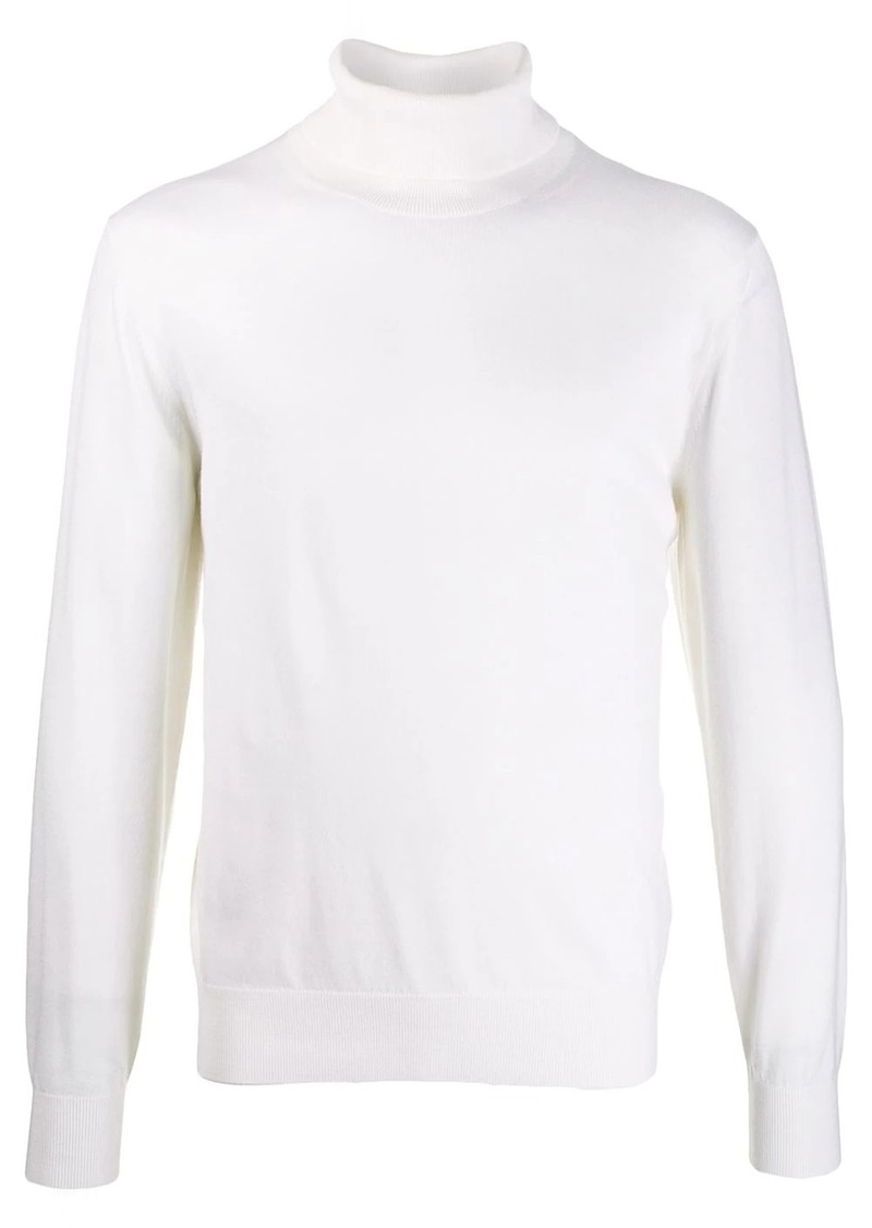 Zegna roll-neck long sleeve sweater