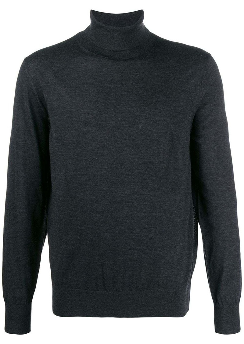 Zegna roll neck jumper