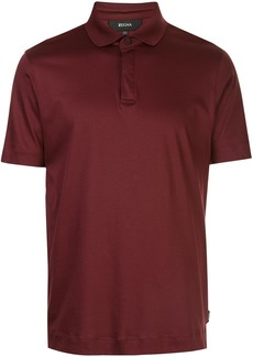 Zegna short-sleeved polo shirt
