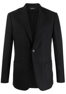 Zegna single-breasted formal blazer