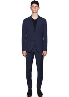 Zegna Slim Fit Tech Merino Wool Wash'n Go Suit