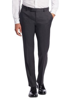 Zegna Slim-Fit Wool Trousers