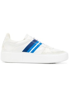 Zegna stripe low-top sneakers