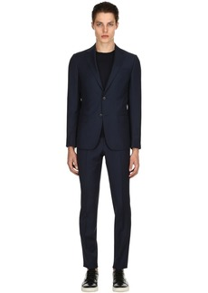Zegna Super 130's Wool Twill Suit