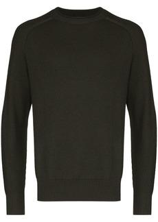 Zegna textured knit jumper