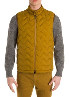 Zegna Ultra-Down Quilted Vest