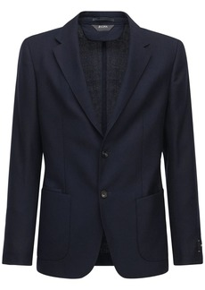 Zegna Wash 'n' Go Wool Jacket
