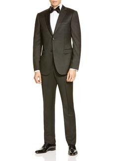 Z Zegna Black Wool Drop 8 Slim Fit Suit