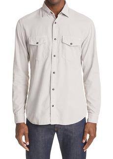 Z Zegna Cotton Overshirt