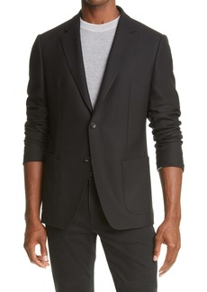 Z Zegna D8 TECHMERINO™ Wash & Go Wool Blazer