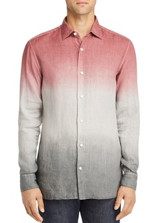 Z Zegna Ombr� Regular Fit Button-Down Shirt - 100% Exclusive